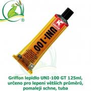 Profi Griffon lepidlo UNI-100 GT 125ml, určeno pro lepení větších průměrů, pomaleji schne, tuba