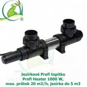Jezírkové Profi topítko Profi Heater 1000 W, max. průtok 20 m3/h, jezírka do 5 m3