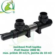 Jezírkové Profi topítko Profi Heater 2000 W, max. průtok 20 m3/h, jezírka do 10 m3