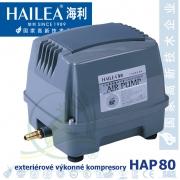 Výkonný kompresor HAP-80, 80 litrů/min., 85 Watt
