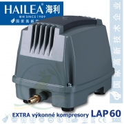 Extra výkonný kompresor LAP-60, 65 litrů/min., 45 Watt