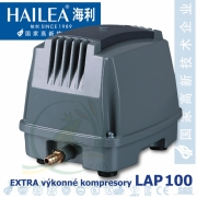 Extra výkonný kompresor LAP-100, 130 lirů/min., 120 Watt. Nové, bez krabice.