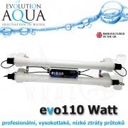 Evo 110 Watt EU, profesionální UV zářič, napojení 63 mm