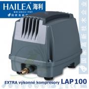 Extra výkonný kompresor LAP-100, 130 lirů/min., 120 Watt