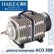 Hailea ACO 208, pístový kompresor, 35 litrů/min.,16 Watt, OSAGA LK 35