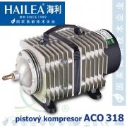 Hailea ACO 318 elektromagnetický kompresor, pístový, 60 litrů/min., 30 Watt, OSAGA LK 60, ACO-318