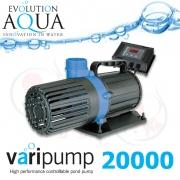 VariPump 20000 EU, regulovatelné čerpadlo s výkonem 20.000 litrů/hod.
