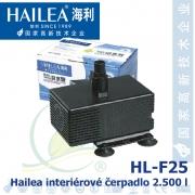 Interiérové univerzální čerpadlo Hailea HL-F25, 2500 litrů/hod, max. výtlak 2,4 m, příkon 50W,