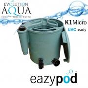 EA Eazy POD Micro, vylepšená verze nejlepší a nejuniverzálnější filtrace na trhu, pro jezírka od 5-150m3 v khaki barvě