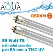 Evo, TMC, Osram originální žárovka - zářivka 55 Watt T8, pro modely TMC a evo 55 Watt a modely TMC a evo 110 Watt, kde je potřeba 2 kusů