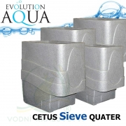 Cetus Sieve QUATER, 4x Cetus v gravity/pump verzi