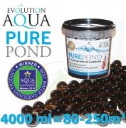 Pure Pond Black Balls bacterials, startovací a čistící samo se dávkující bakterie pro bio-rovnováhu ve filtracích a jezírku, 4000 ml pro 80-400 m3, pro celoroční použití od 4 °C