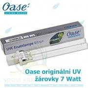 Oase originální náhradní žárovka UV 7 Watt