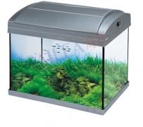 Akvárium 20 litrů s krytem + ZDARMA osvětlení + filtrace se vzduchováním