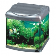30 L akvárium s lepenými rohy + ZDARMA filtrace HL-BT200 a osvětlení