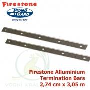 Firestone Aluminium Termination Bar 2,74 cm x 3,05 m, hliníkový uchycovací pásek