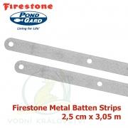 Firestone Metal Batten Strip 2,5 cm x 3,05 m, kovový uchycovací pásek
