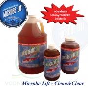 Microbe Lift Clean & Clear bacterie 4 L na 50-600 m3, biologický bakteriální preparát pro projasnění a pročištění vody v jezírcích a biotopech