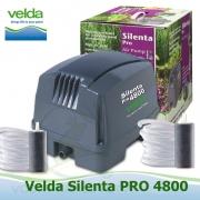 Vzduchovací set Velda Silenta 4800, 80 litrů/min., včetně 2 ks GIANT vzduchovacích kamenů a 2x5 m hadiček