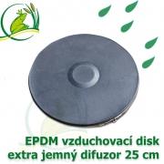 Vzduchovací disk 25 cm, EPDM difuzor extra jemný
