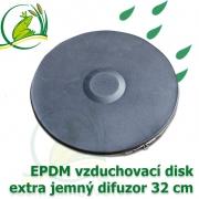 Vzduchovací disk 32 cm, difuzor extra jemný