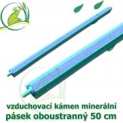 Vzduchovací kámen minerální, pásek 50 cm. oboustranný
