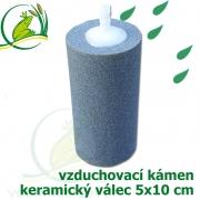 Vzduchovací kámen keramický, válec 50x100x6 mm