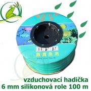 Vzduchovací hadička silikonová 6 mm, balení 100 m