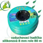 Vzduchovací hadička silikonová 8 mm, balení 80 m