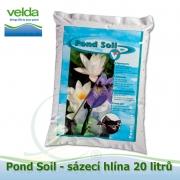 Sázecí hlína pro lekníny a vodní rostliny 20 litrů