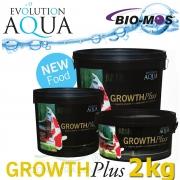 EA Growth Plus, speciální růstové krmivo pro okrasné ryby a koi, velikost 5-6 mm, balení 2000g