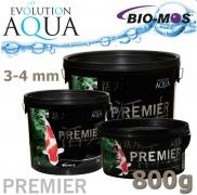 EA Premier, extra kvalitní krmivo pro malé a menší rybky, speciálně pro koi, velikost 3-4 mm, balení 800g