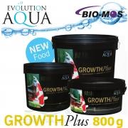 EA Growth Plus, speciální růstové krmivo pro okrasné ryby a koi, velikost 5-6 mm, balení 800g