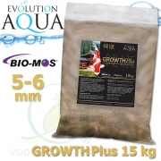 EA Growth Plus, speciální růstové krmivo pro okrasné ryby a koi, velikost 5-6 mm, balení 15 kg