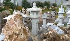 Japonská lampa - Oribe