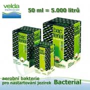 Bacterial 50 ml pro 5-10 m3,. startovacích jezírkových aerobních bakterií Velda, dodávané v sušeném stavu