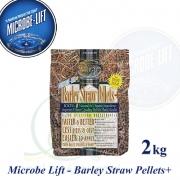 Barley Straw pellets PLUS 2 kg, ječná sláma granule, 100% přírodní produkt pro bio-stabilitu v jezírcích, pro cca 20-40m3
