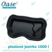 Plastové jezírko 1000 l