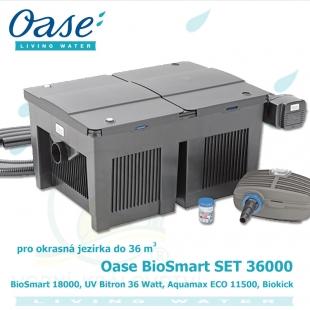 BioSmart Set 36000 (Biotec 10.1.), pro jezírka do 18.000 litrů, BioSmart 36000, Bitron 36 Watt, Aquamax ECO Classic 11500, Biokick, hadice 5 m