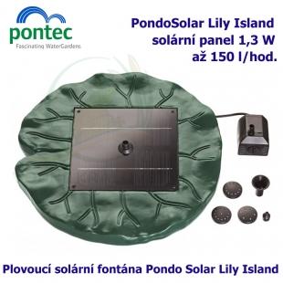 Pontec PondoSolar Lily Island