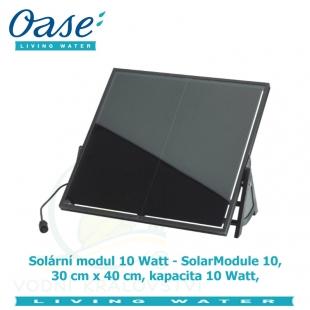 Solární modul 10 Watt - SolarModule 10, 30x40cm, kapacita 10 Watt,