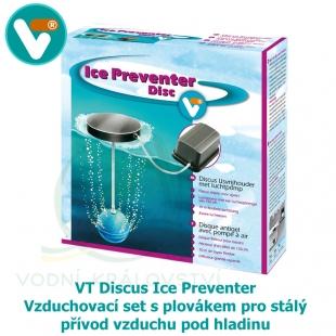 VT Discus Ice Preventer - Vzduchovací set s plovákem pro stálý přívod vzduchu pod hladinu v zimním období, výkon 100 litrů/hod.