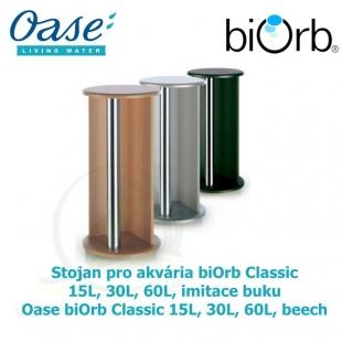 Stojan pro akvária biOrb Classic 15L, 30L, 60L, imitace buku - Oase BiOrb Classic 15L, 30L, 60L, beech