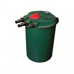 Tlaková filtrace Fish Mate P-UV 30000, max. průtok 15000 l/h, UV 24 Watt, pro jezírka 7500-30000 litrů - Výprodej nového zboží, poškozená krabice.