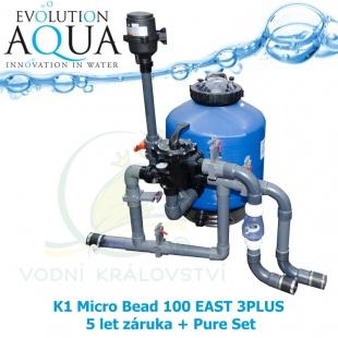 K1 Micro Bead 100 EAST 3PLUS 5 let záruka + Pure Set