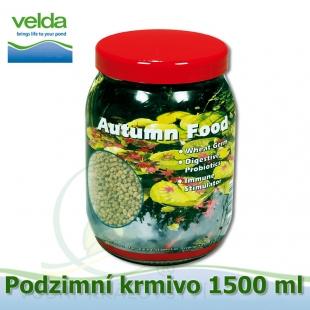 Autumn food, podzimní krmivo