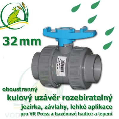 kulový ventil 32 mm