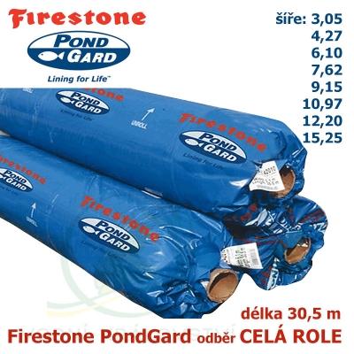 Firestone EPDM PondGard odběr celá role 30,5 m