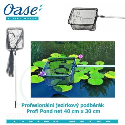 Profesionální jezírkový podběrák - Profi Pond net 40x30