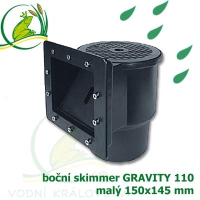 boční skimmer malý gravitační verze
